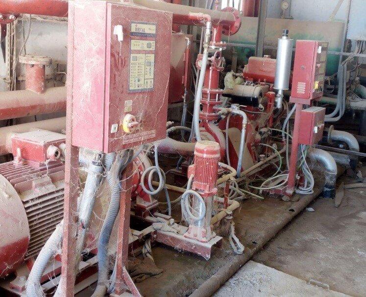 LEBDA Cement Plant Fire-fighting Skid